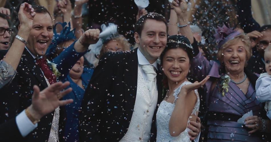 Janya & Matthew Wedding Video Rushton Hall Northamptonshire