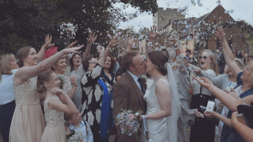 Carys & Nick Wedding Video Berkswell Warwickshire